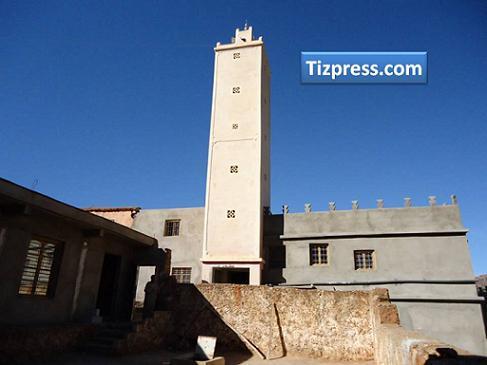 alt - من قلاع سوس العالمة  : المدرسة العتيقة أكرض إفرضن بأيت احمد بإقليم تزنيت