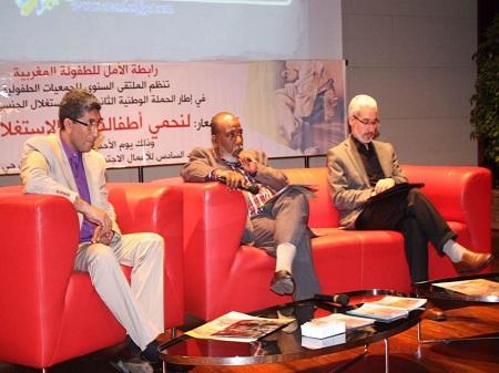 الرباط : رابطة الأمل للطفولة المغربية تنظم الملتقى السنوي للجمعيات الطفولية في إطار الحملة الوطنية الثانية ضد الاستغلال الجنسي للأطفال المغاربة