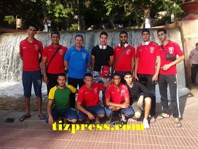 حصيلة فريق مستقبل تيزنيت لكرة الطائرة في مباريات السد المؤهلة للقسم الممتاز المغربي