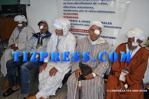 tiznit:حملة طبية بالدار البيضاء من تنظيم اتحاد الجمعيات التنموية لأمانوز بتافراوت لإزالة الجلالة لأبناء المنطقة