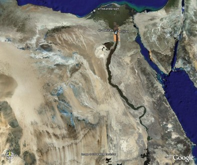 GOOGLE EARTH والانقلاب العسكري بمصر