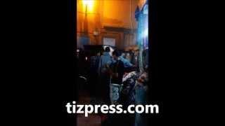 شاحنة نفايات البلدية عالقة بزنقة الحمام بتيزنيت