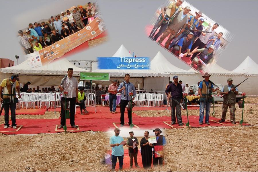 مسابقة في رمي الصحون على هامش ملتقى الحاج بلعيد بأنو نعدو