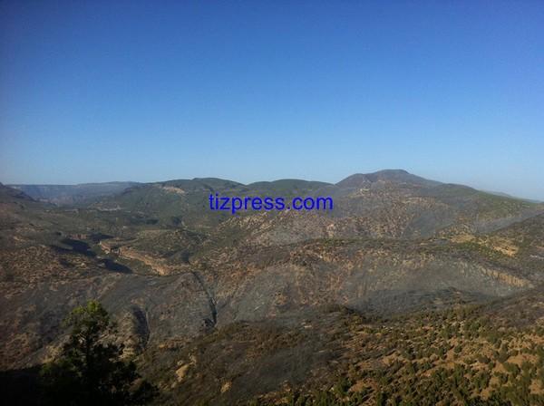 أكادير: تفاصيل الحريق الذي حول مئات الهكتارات من غابة أمسكرود إلى رماد