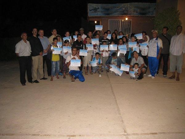 نادي أمل تيزنيت للسباحة والغوص يحتل المرتبة الأولى خلال التظاهرة الجهوية الأولى