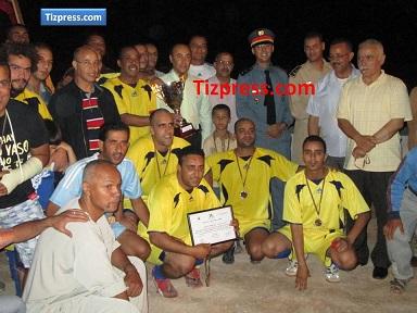 الشرطة تفوز في الدورة الثانية لدوري القطاعات في كرة القدم المصغرة الرمضانية بتيزنيت
