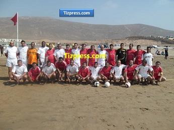 قدماء اللاعبين يتألقون في دوري جمعية اتحاد شباب أكلو (صور)