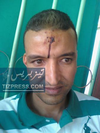عاجل: اعتقال الزميل محمد بوطعام، مراسل جريدة الأحداث المغربية ( صورة خاصة )