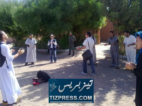 tiznit: تأسيس مجموعة معطلي دائرة أنزي بإقليم تزينت