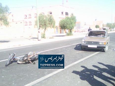 وفاة شخص في حادثة سير بجماعة الركادة أولاد جرار إقليم تيزنيت