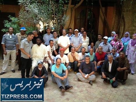 اضراب مفتوح واعتصام داخل فندق قصر السلام بتارودانت