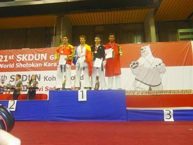 أولمبيك الدشيرة للكراطي يتألق في بطولة العالم بصربيا