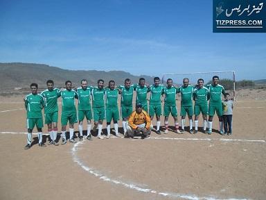 فريق إدمسيعيد حامل لقب دوري عيد الأضحى بوجان لسنة 2013