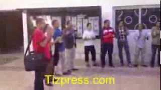 وقفة احتجاجية للموظفين للمطالبة بتراخيص مباراة مراكز التربية والتكوين