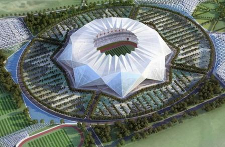ملعب عملاق لكرة القدم بالدارالبيضاء