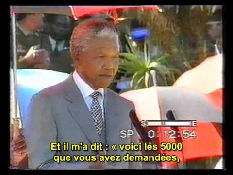 بالفيديو : الزعيم مانديلا يثني على الدكتور الخطيب
