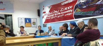 تيزنيت : أعضاء المكتب الجديد للتجمع العالمي الأمازيغي