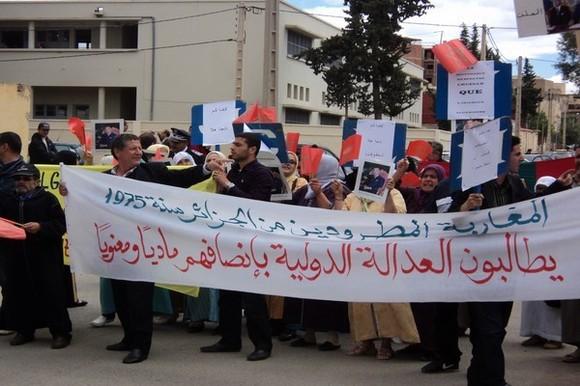 معاناة المغاربة المطرودين من الجزائر تتواصل بعد 38 سنة