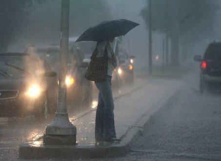 طقس ماطر يوم غد السبت