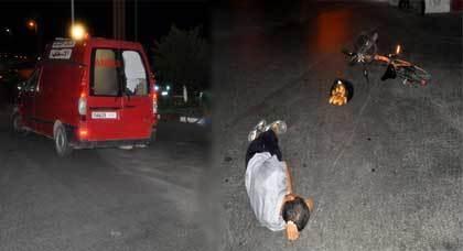 عااجل : إبن باشا مدينة تيزنيت ينجو من حادثة سير خطيرة