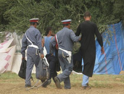 تافراوت : إلقاء القبض على عصابة بجماعة أيت وفقا