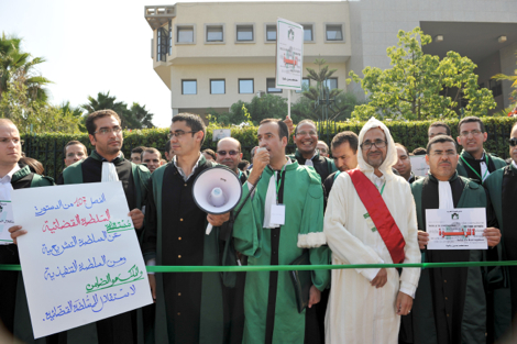 القضاة ينددون بمنع وقفتهم الاحتجاجية ( بيان )