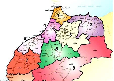هذه هي خريطة المغرب بعد اعتماد 12 جهة