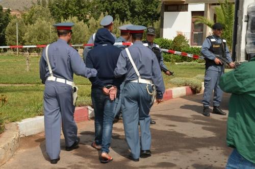 """مراكش :درك """" تيغدوين """" يفك لغز  جريمة اعتداء تسببت في بتر رجل شاب بأكادير"""