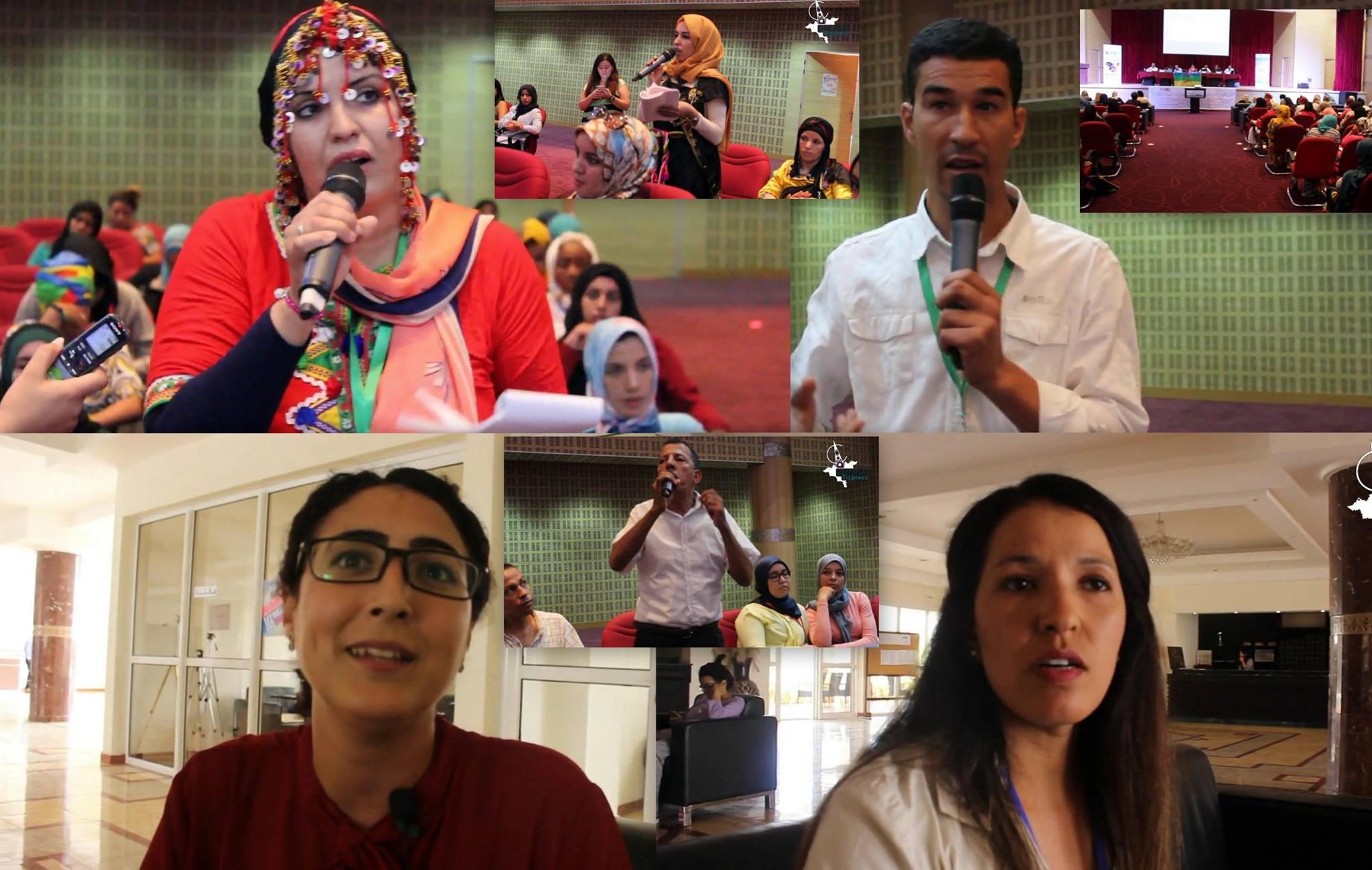 بالفيديو :تصريحات ومداخلات لبعض النساء الأمازيغيات المشاركات في الجامعة الصيفية الأولى بأكادير