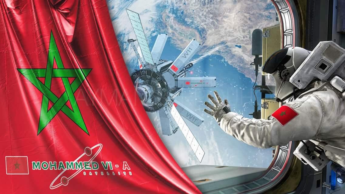 """شاهدوا البث المباشر لإطلاق القمر الصناعي المغربي """"محمد السادس"""" إلى الفضاء"""