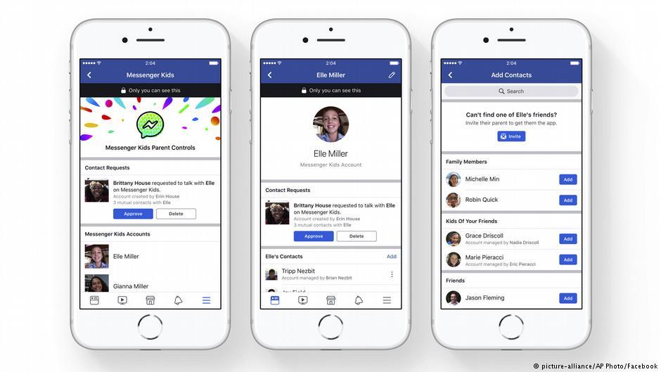 """""""فيسبوك""""يطلق تطبيقاً جديداً للأطفال تحت سن 13 عاماً"""