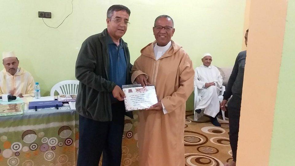 أولاد جرار : تكريم « محمد البلوشي » مُؤسس ودادية الخير ومجموعة من رجالات جماعة الركادة