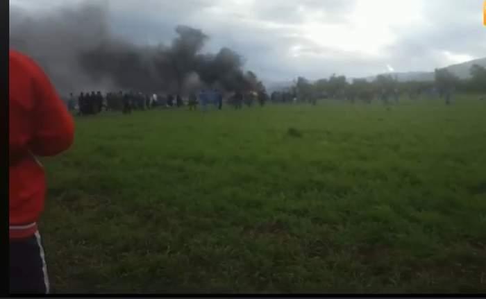 ارتفاع عدد قتلى سقوط طائرة عسكرية بالجزائر إلى 247 شخصاً
