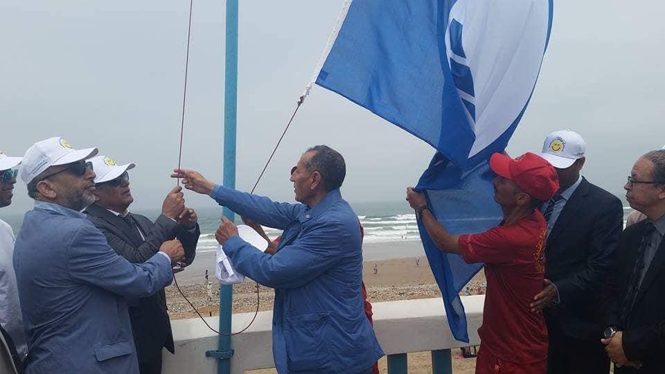 أكلو : للمرة السابعة .. اللواء الأزرق سيُرفرف مُجددا في سماء شاطئ سيدي موسى