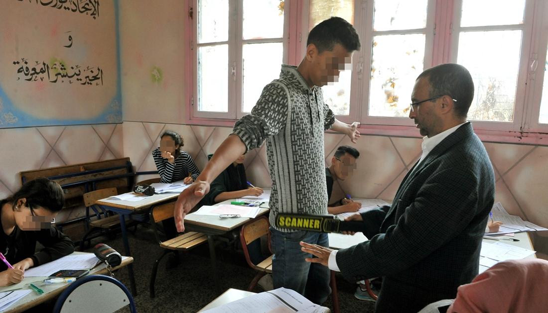 إعفاء تلاميذ الباك من توقيع التصريح بالشرف بشأن قانون زجر الغش