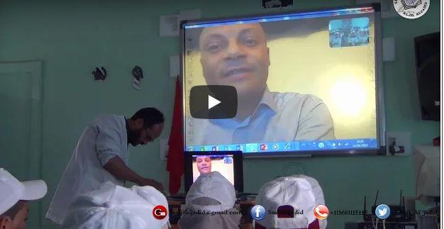 مؤسسة تعليمية بجبال أدرار تستضيف المربي المتخصص محمد حبيب إستعداد للإمتحانات الإشهادية