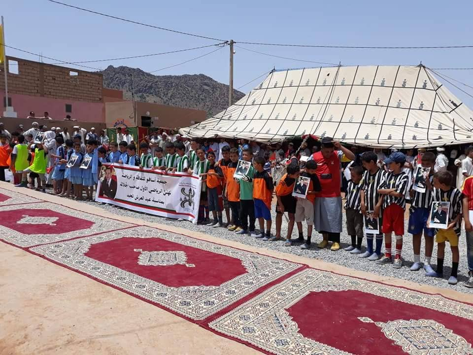 تيغمي : اسدال الستار عن فعاليات دوري كرة القدم المُصغرة