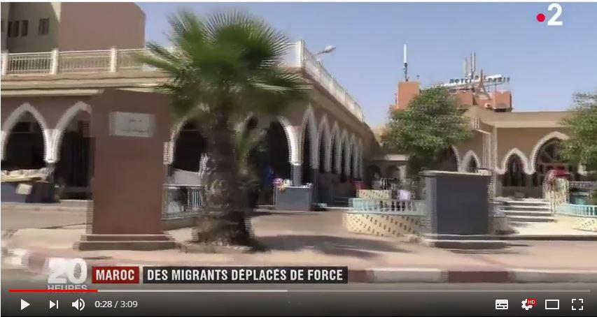 فيديو  :من قلب المدينة ..مهاجرون أفارقة يرحلون قسرا نحو تيزنيت