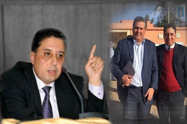 """كلميم : """"بوعيدة"""" يعتبر نفسه عضوا من الدرجة الثانية بحزب الحمامة و يقدم نصائح لشباب حزب التجمع الوطني للأحرار"""