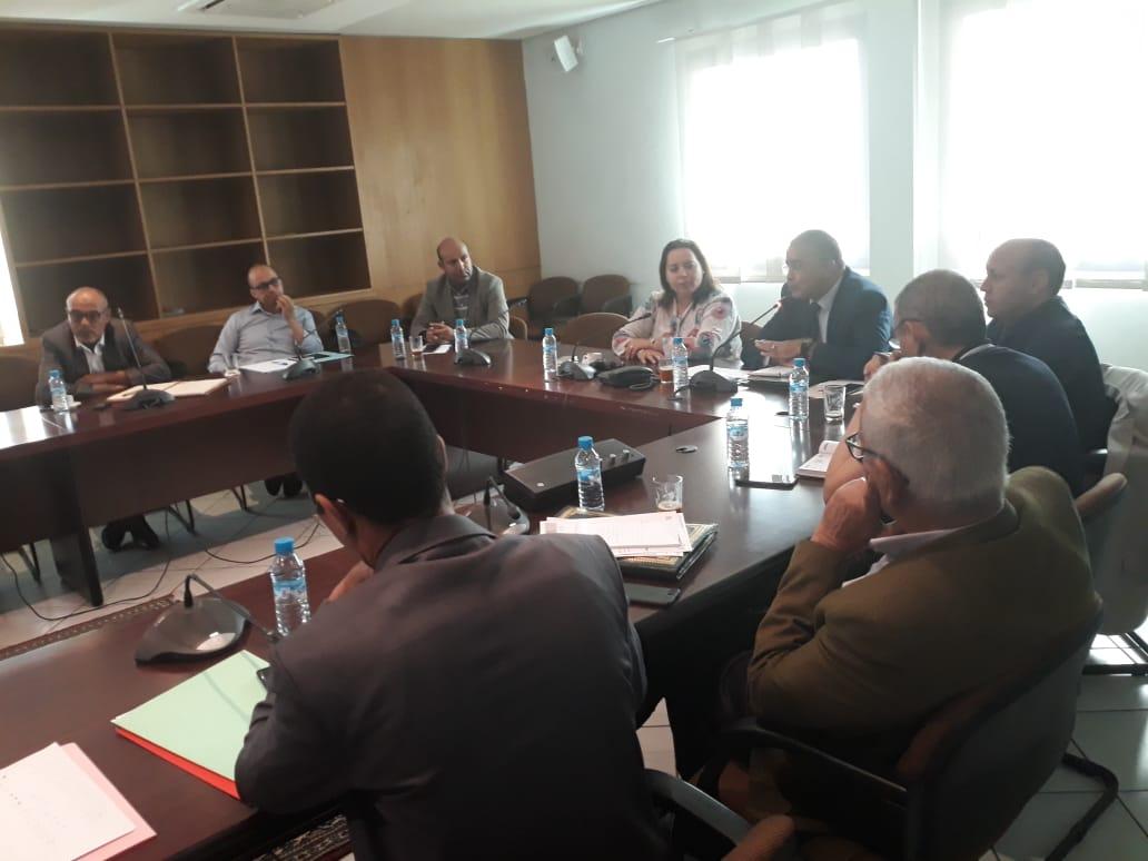 تنمية التعليم الأولي  بسوس ماسة محور اجتماع تنسيق جهوي بمقر مجلس الجهة