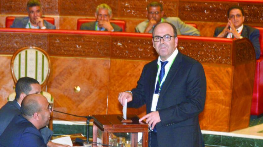 انتخاب رئيس مجلس المستشارين الاثنين
