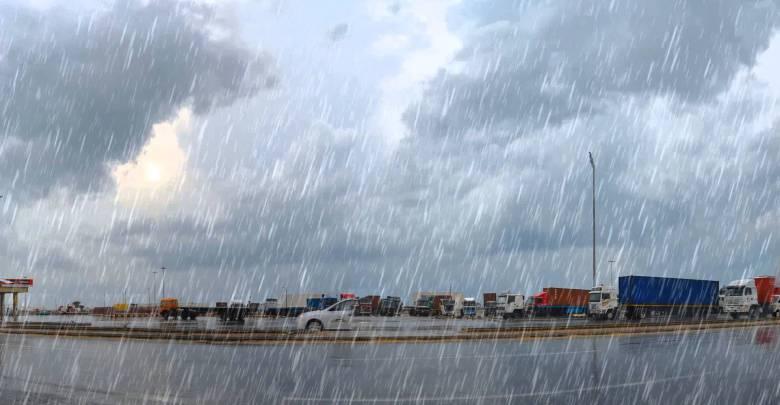 نشرة إنذارية…أمطار عاصفية اليوم وغدا الإثنين بهذه المناطق