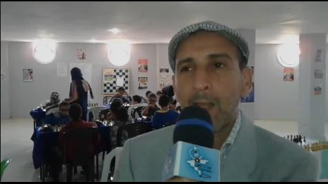 تصريح المختار الصالحي رئيس نادي أمل تيزنيت للشطرنج على هامش الدوري المحلي الأول