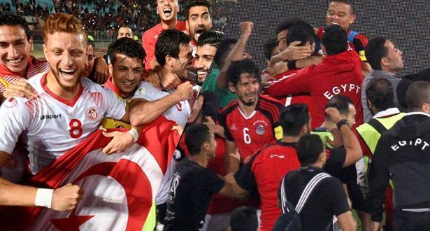"""تونس ومصر تحجزان بطاقتيهما إلى نهائيات """"كان"""" 2019"""