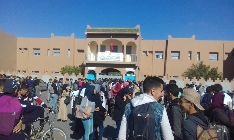 استمرار احتجاج التلاميذ على ترسيم الساعة والزمن المدرسي