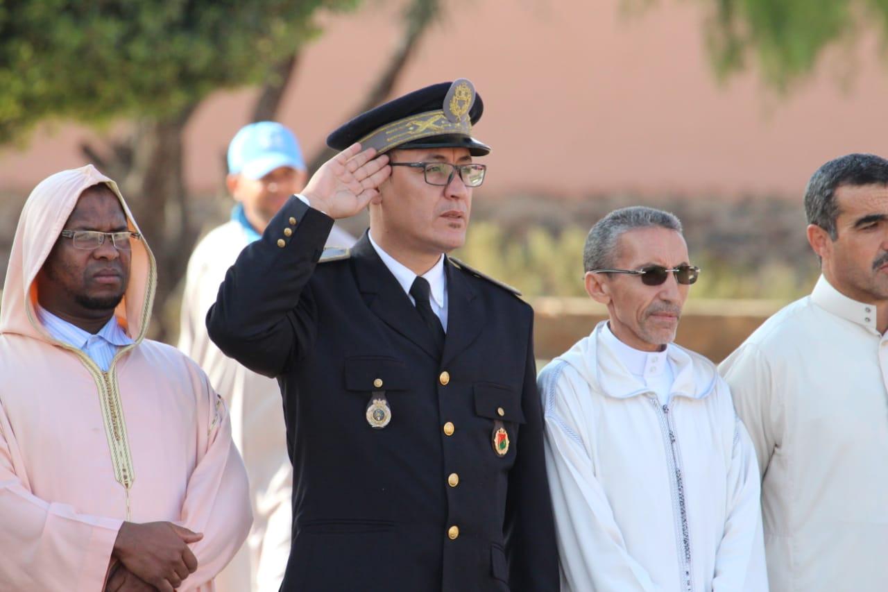 أربعاء رسموكة : بالصور… مراسيم تحية العلم بمناسبة ذكرى المسيرة الخضراء