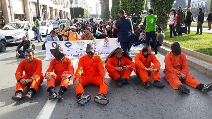 إضراب جهوي يوم الثلاثاء المقبل مصحوبا بوقفة احتجاجية أمام مقر انعقاد المجلس الإداري بأكادير
