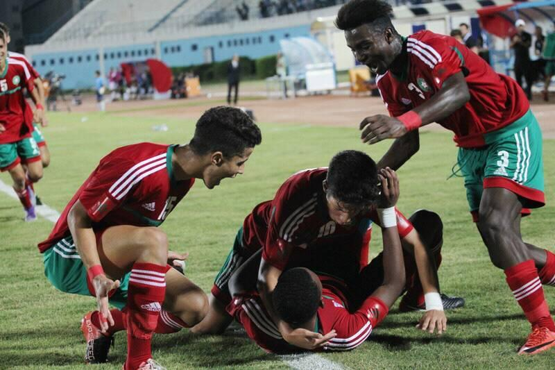 المنتخب المغربي لأقل من 17 سنة يدك شباك نظيره التونسي