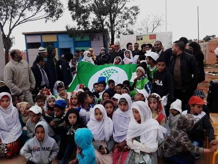 سيدي إفني : مجموعة مدارس الرازي تحصل على اللواء الأخضر الدولي للبيئة