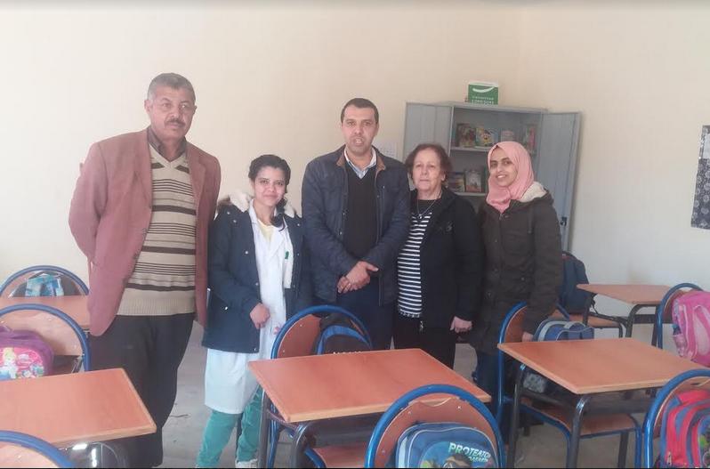 تجهيز قاعة دراسية وتوزيع الزي المدرسي بم/م سيدي عيسى بجماعة تارسواط بدائرة تافراوت
